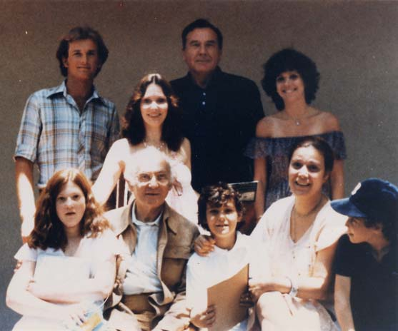 Ralph with Lee and Susan Strasberg and Family