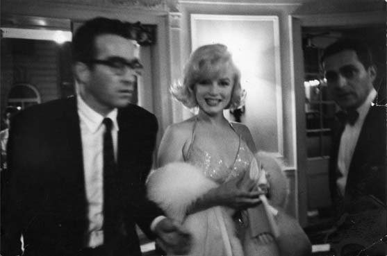 Montgomery Clift and Marilyn Monroe by Bruce Davidson